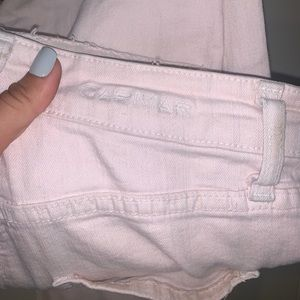 baby pink LF jeans